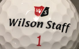 Wilson Staff Dx2 m. trykfejl - Cosmetic Blemish