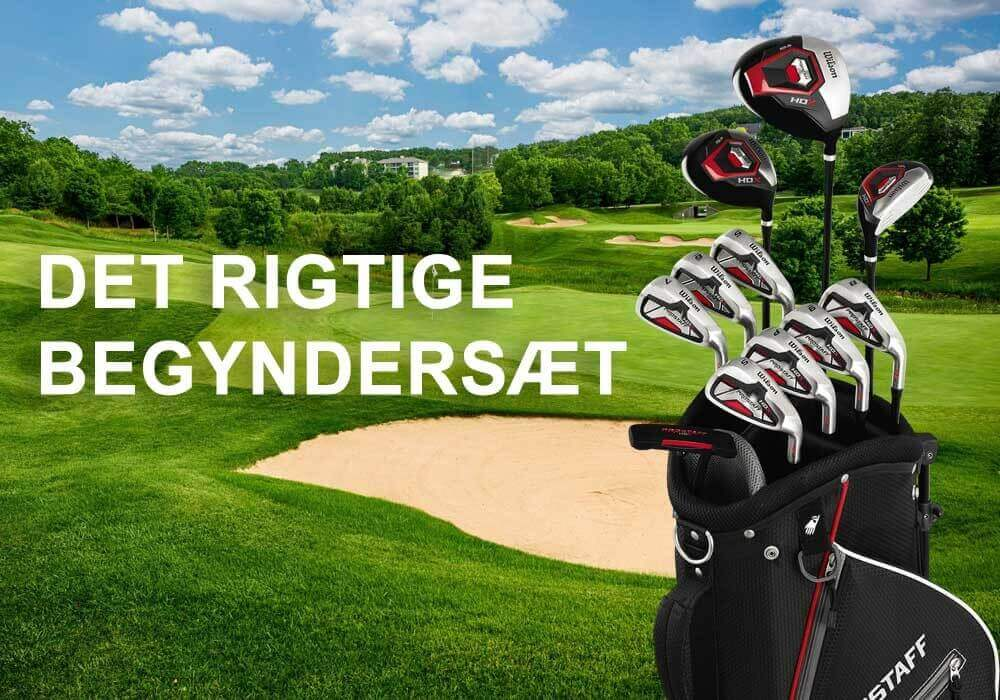Vælg det rigtige golfsæt til begynderen